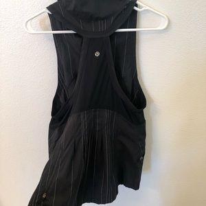 Lululemon vest black size 8